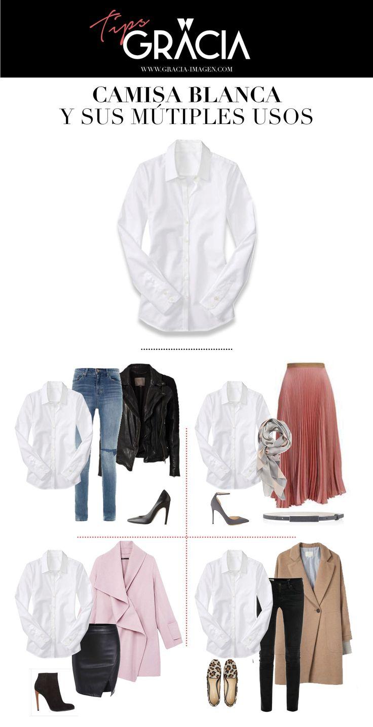 Con qué combinar una blusa blanca. Diferentes estilos