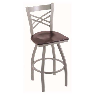 Holland Bar Stool Catalina 30 in. Swivel Bar Stool with Wood Seat Dark Cherry Maple - 82030PWDCMPL, Durable