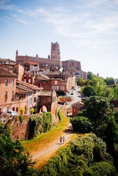 Albi, #Tarn, France • by Les Escapades