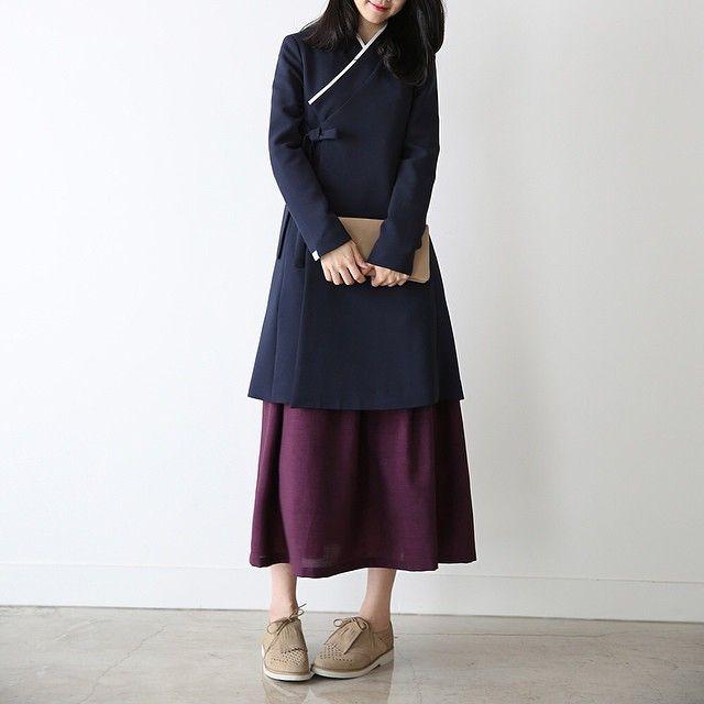 한복 Hanbok : Korean traditional clothes[dress] #리슬