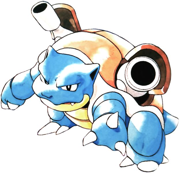 Squirtle Best Nature Fire Red
