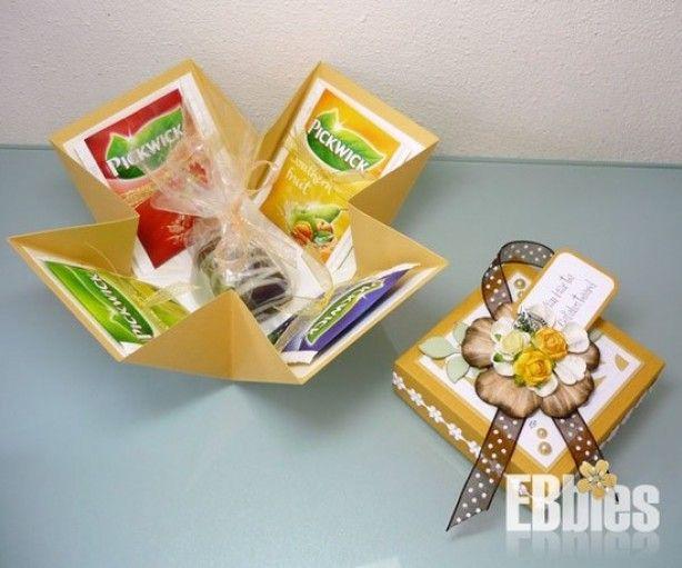 Leuke manier om thee-cadeautje te maken, #Surprise #Sinterklaas