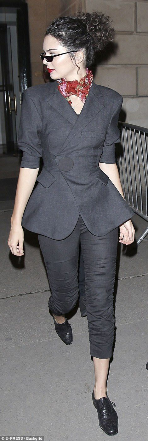 Kendall Jenner and Bella Hadid storm Miu Miu AW17 runway   Daily Mail Online