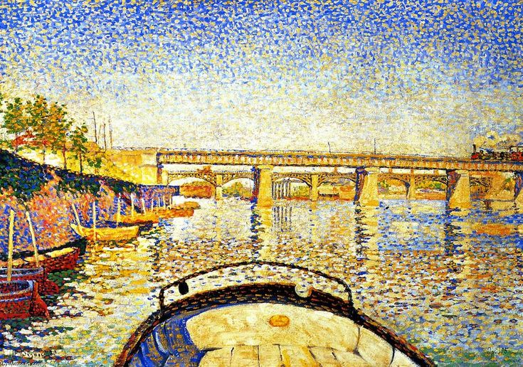Stern of the Boat, Opus 175, Oil On Canvas by Paul Signac (1863-1935, France)