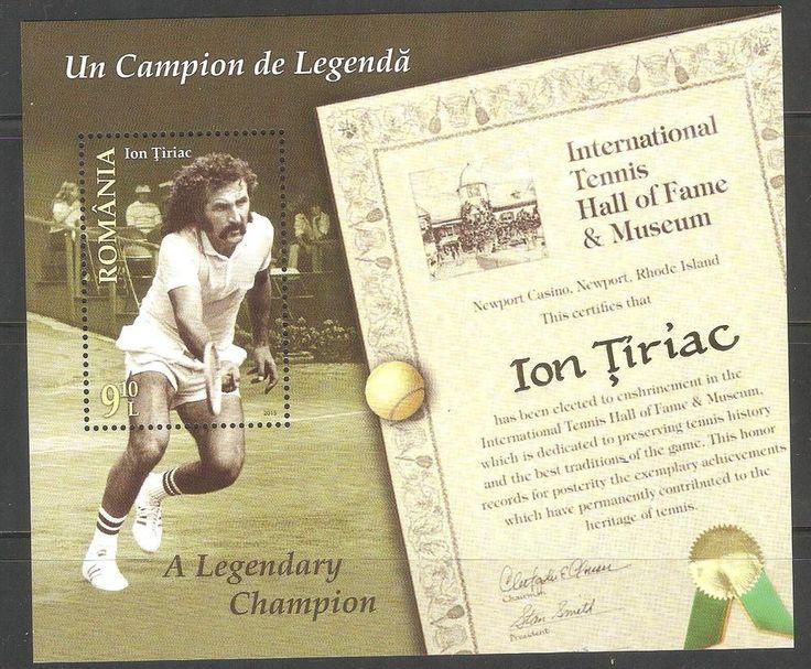 MNH Stamps  Romania Ion Tiriac A Legendary Champion