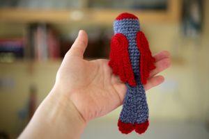 crochet bird 2