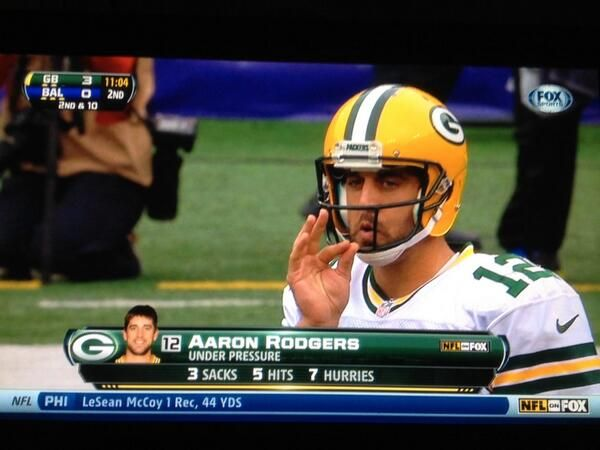 Aaron Rodgers: Huddle smoking signals tribute to Smokin' Jay Cutler - CBSSports.com