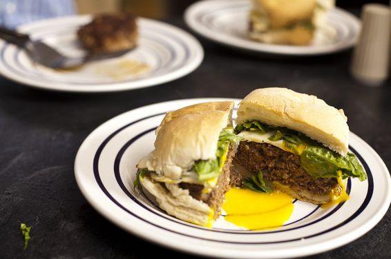 Moroccan Spiced Burger, a recipe on Food52
