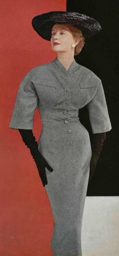 House of Dior Dress, 1953
