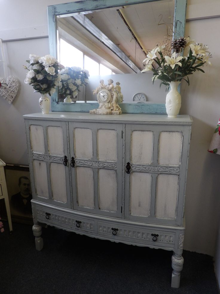 NOW SOLD Painted sideboard £345 ----------- The RGF Restoration Team is the South East's leading furniture up-cycling company. Our skills include upholstery, restoration, and paint effect including shabby chic, farmhouse distress and French provincial.
