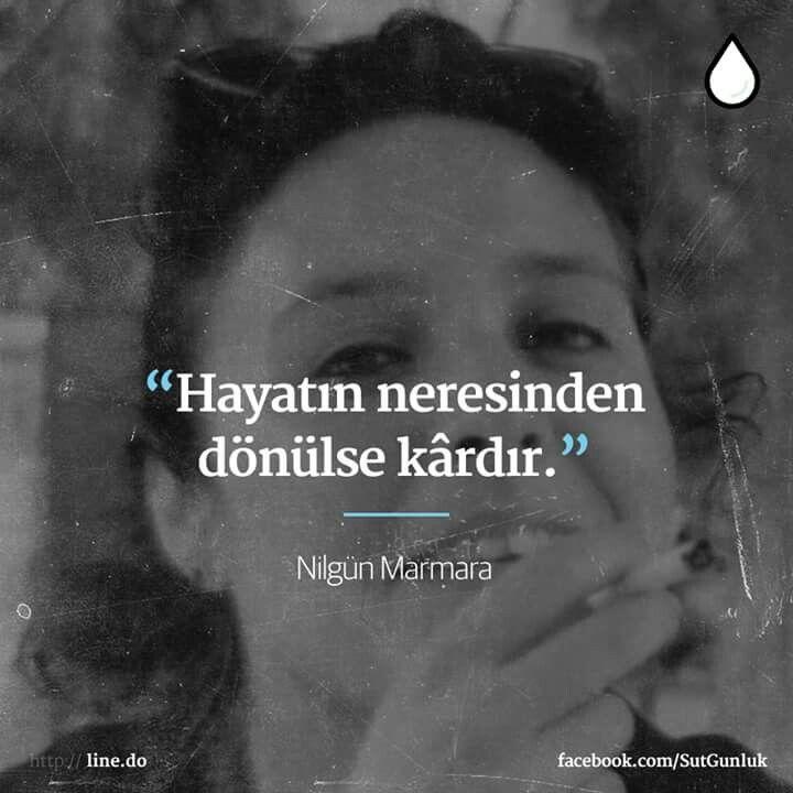 ~ Nilgün Marmara