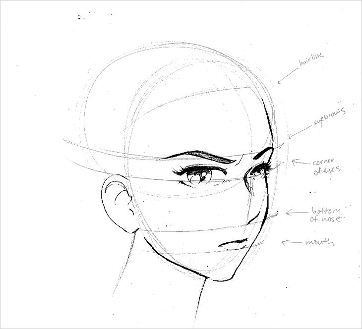 how to draw big eyes - Google Search | Sketches by others ...