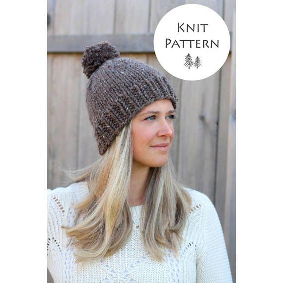 KNITTING PATTERN -The Belle Beanie Pattern- Woman's Hat Pattern