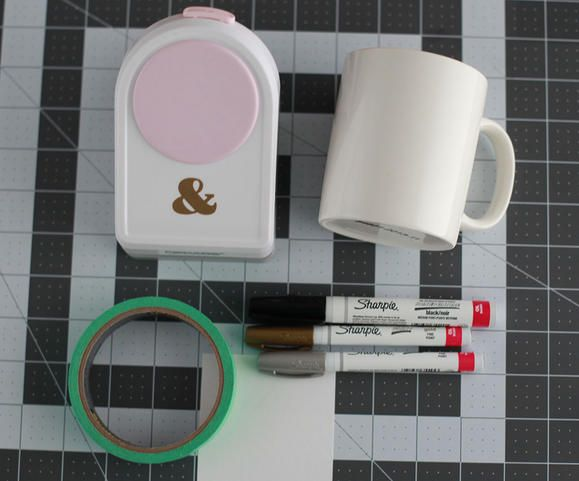 DIY personalized coffee mug www2.fiskars.com