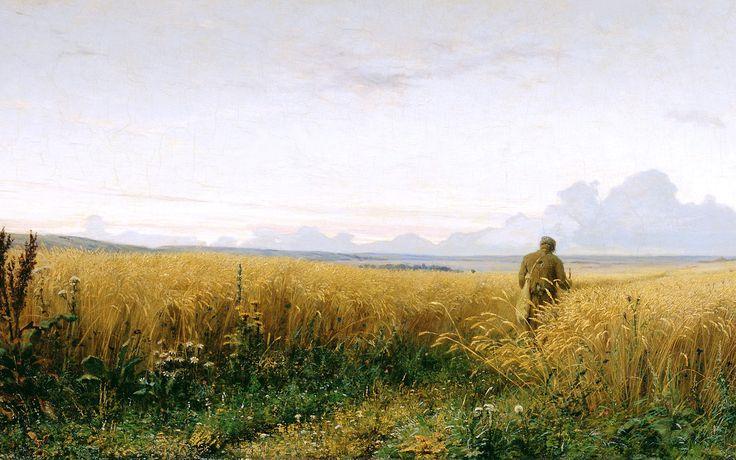 Живопись русских художников (обои для компьютера)