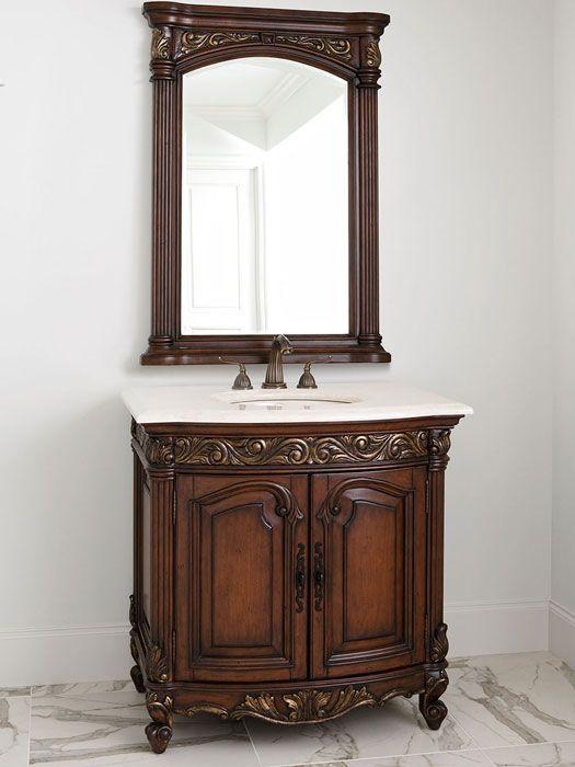 Vanity Designs For Bathrooms 30 best french provincial bathroom vanities images on pinterest