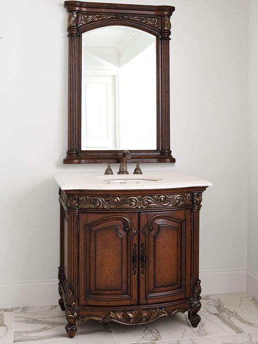 Lastest While The Luxe Living Trend Shares Many Of The Same Elements As The French Refined Design Trend  Add To The Visual Pleasure Of This Bathroom Vanity We Dont Have To Travel The World, Or Even Ever Leave Our Country, To Embrace The