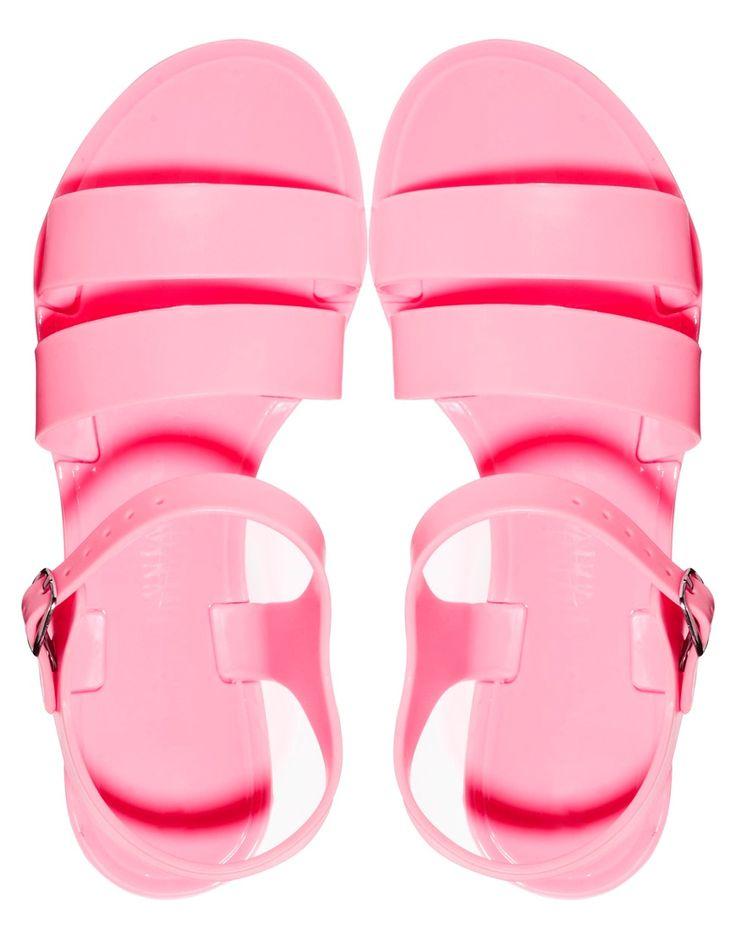 Изображение 3 из Эксклюзивные розовые силиконовые сандалии Juju Seven