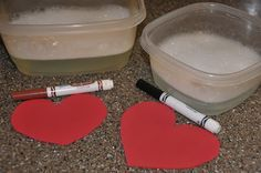 Valentine's Day Object Lesson: Stuff We Do: Create in Me a Clean Heart * Psalm 51:10