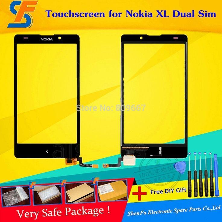 Купить товарНовый черный сенсорный экран для Nokia XL Dual Sim сенсорный экран панели стекло планшета замена бесплатно Shpping + DIY инструменты в категории Сенсорные панели для мобильного телефонана AliExpress.            Новый черный сенсорный экран для Nokia XL двойной сим сенсорный экран панели, стекло планшета замена частей б