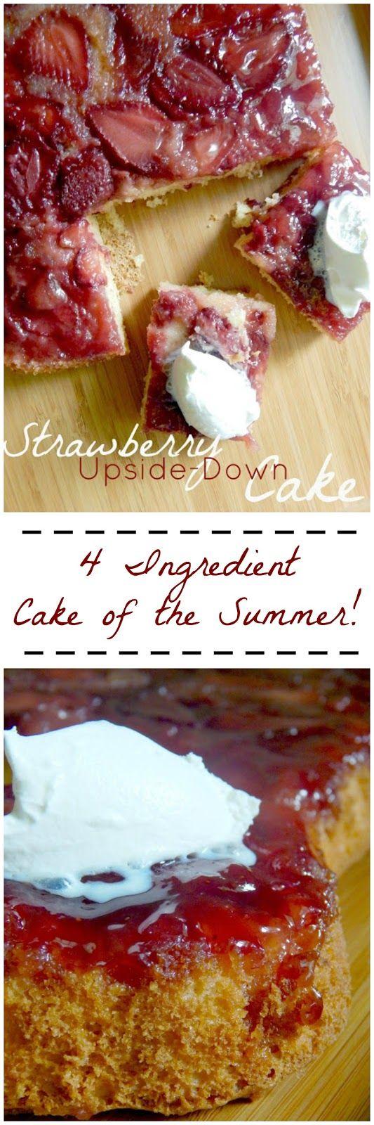 strawberry upside down cake (sweetandsavoryfood.com)