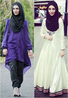 Foto Baju Busana Muslim Terbaru Model Hijab Style 2014
