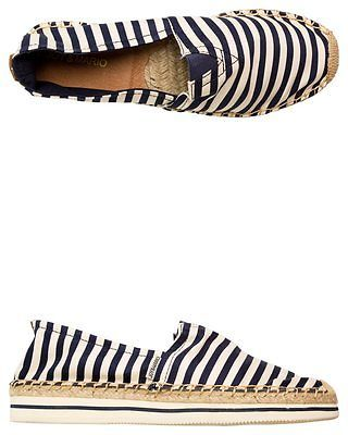 New Joy & Mario Footwear Women's Joy & Mario Zuma Navy Espadrille Canvas Leather in Clothing, Shoes & Accessories,Women's Shoes,Flats & Oxfords | eBay
