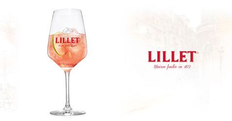 Mit Lillet Rosé, Tonic Water und französischem Lebensgefühl: Lillet Rosé Tonic. Zum Rezept: