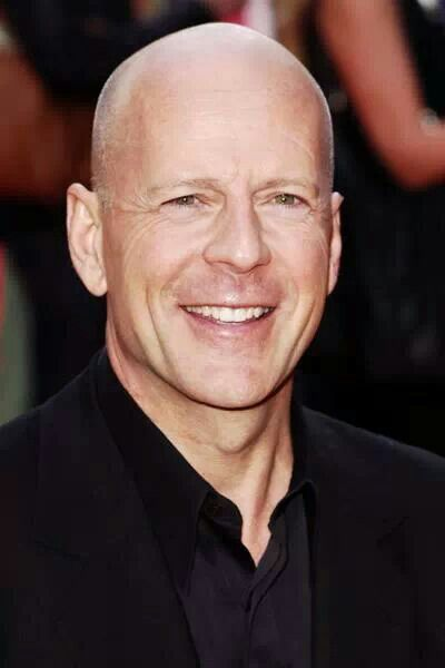 Bruce Willis was voted best teeth, smile and hair for the ...