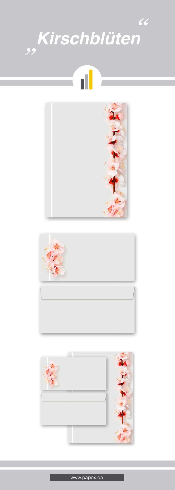 Briefpapier / Motivpapier KIRSCHBLÜTEN - Sagen Sie es »durch die Blume« mit unseren variantenreichen Blütenmotiven oder Designs aus vielen anderen Themenbereichen, um einem persönlichen Schreiben den richtigen Rahmen zu verleihen. Das Verwenden Sie unsere Produkte als Werbewirksame Zielgruppenmailings, Weihnachtsgrüße, für Angebote, als Saison-Briefpapier, für Einladungen, Glückwünsche, Speisekarteneinlagen, Aktionsprogramme, Feste, als Aushang im Schaufenster und für weitere tausend…