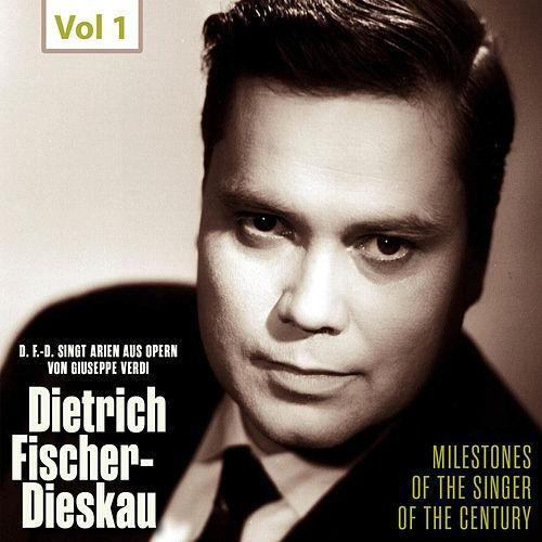 Milestones of the Singer of the Century - Dietrich Fischer-Dieskau, Vol. 1 de Dietrich Fischer-Dieskau