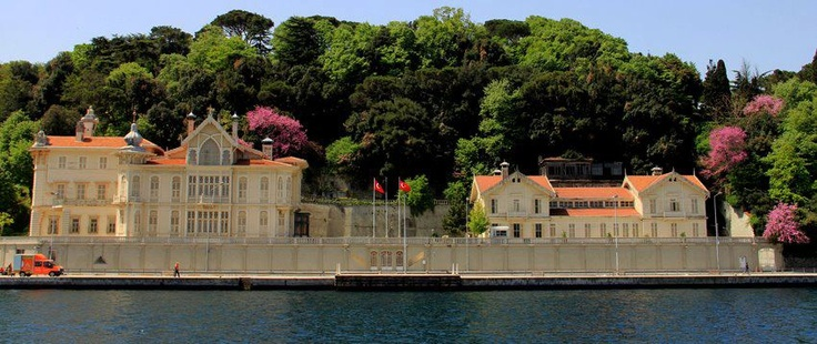 Waterfront Houses on Bosphorus