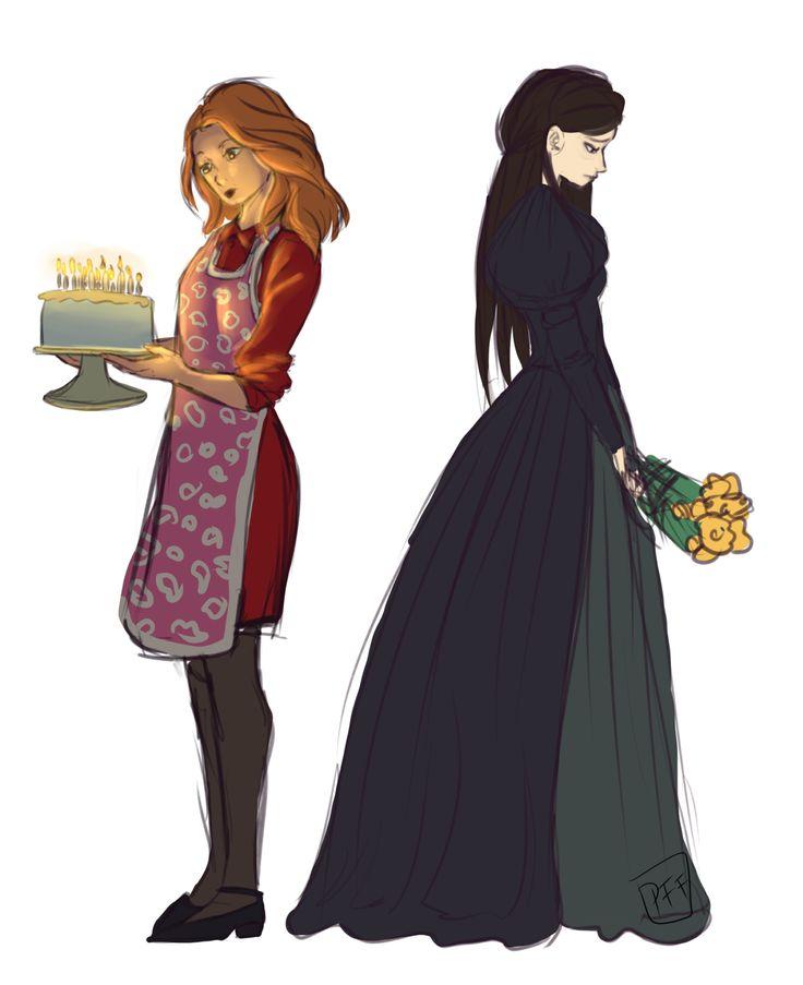 """sad mothers."" - Diana (Next to Normal) and Eliza (Hamilton)"