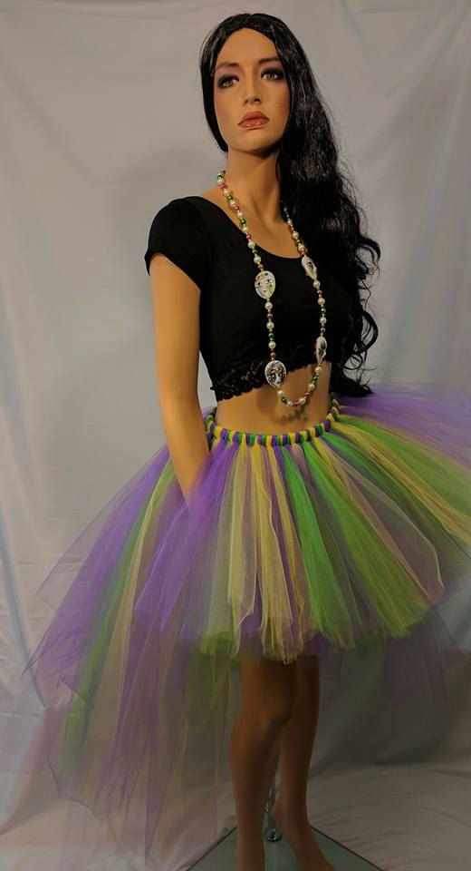 Mardi Gras Tutu Bustle by BBsBoutiqueShop on Etsy
