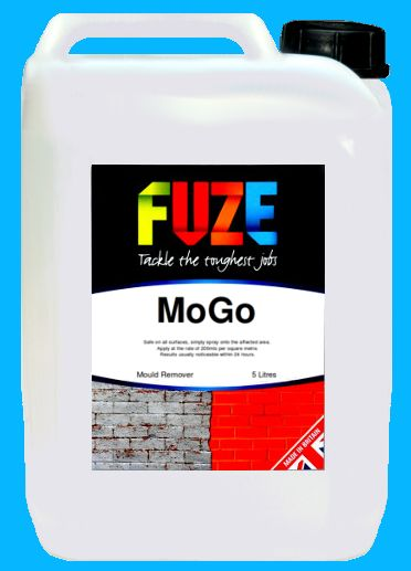 FUZE MoGo, 5 Litres. Expert mould removers delivered straight to your door. Safe to use on ANY surface.