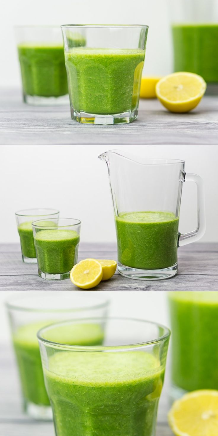 This kale smoothie is a perfect way to start the day. It's bursting with flavours and vitamins and it's really easy to prepare. #kale #smoothie