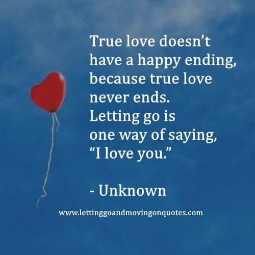 A True Love Story Never Ends Quote: 66 Best Letting Go Quotes Images On Pinterest