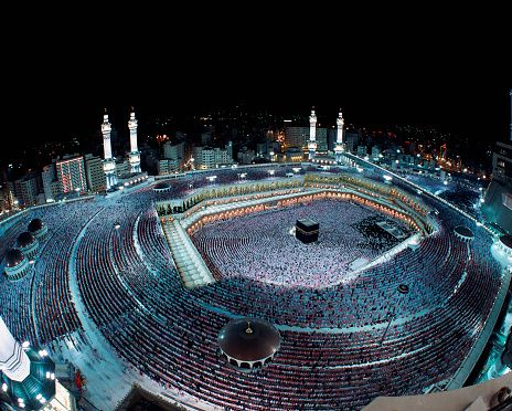 Laylat al-Qadr in Mecca | The 27th of Ramadan, 'Laylet al-Qadr' (Night of Power), is one of the holiest nights of the Islamic calendar, the night when the Quran began to be revealed to the Prophet Muhammad. Almost one million pilgrims visit Mecca from all over the world and pray over the night.
