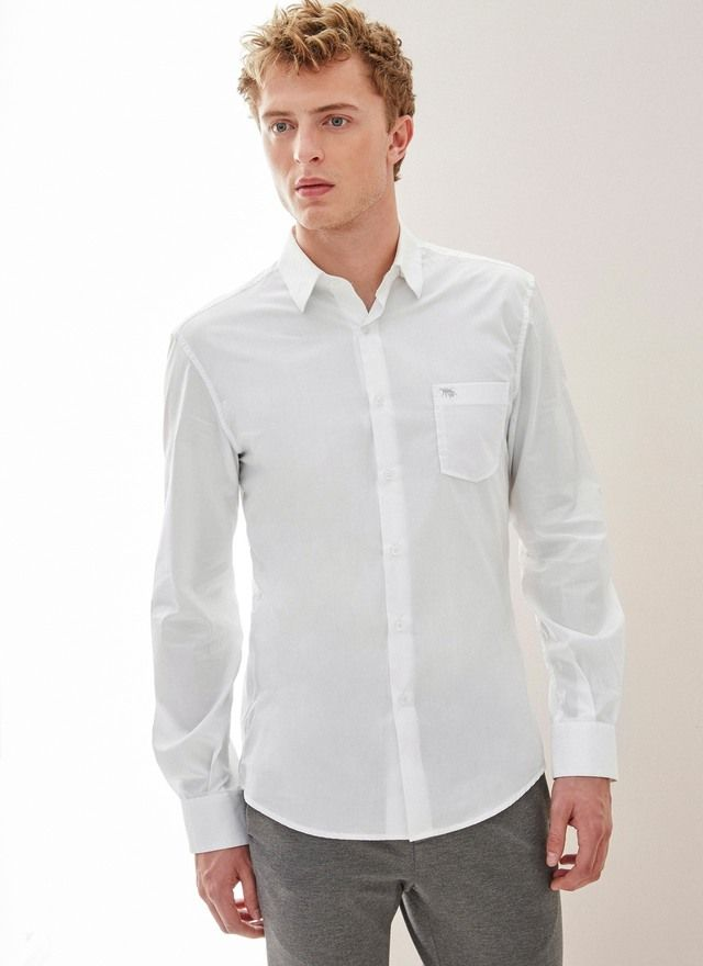 Image of Camisa de algodón Regular Fit