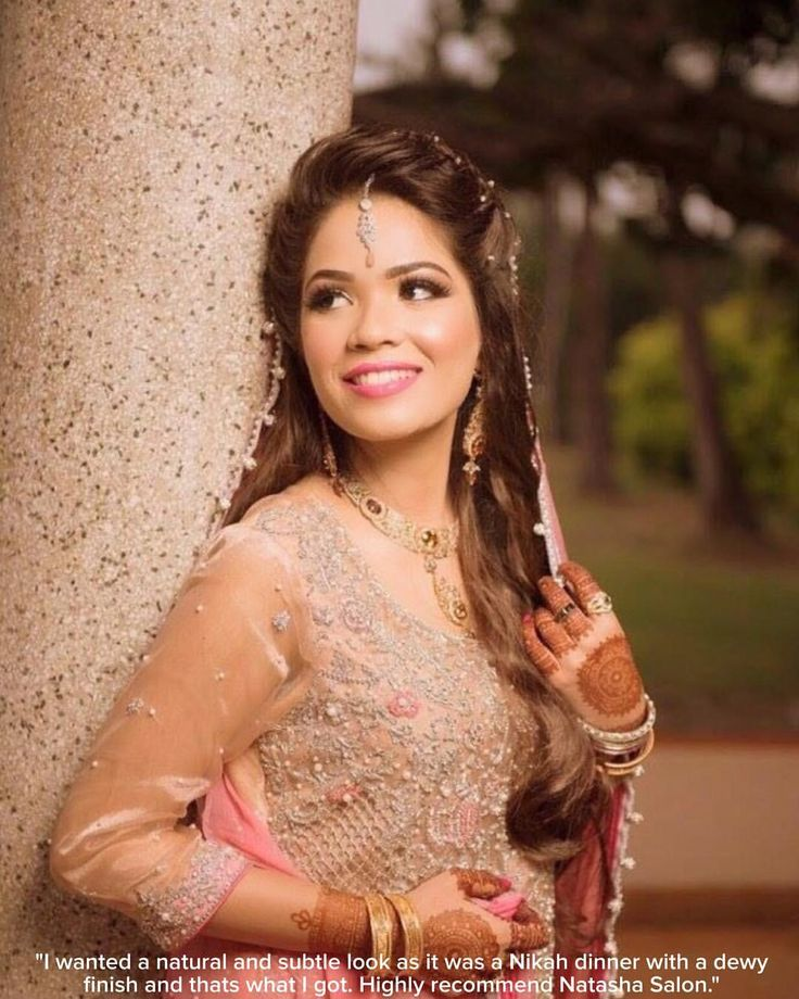 Love sharing photographs that our gorgeous brides send us. Here beautiful Hiba gets a stunning soft look in pinks and peaches 💕Love candid shots from our gorgeous brides 😍😍😍 💕and to give back to our gorgeous brides we are giving 10% off on all salon services ( excluding makeup services) for all our brides that inbox us their pictures on our Instagram or Facebook inbox 😊to avail just show a screenshot of the inbox messages received by our admin 💕 Kindly contact us on these numbers…