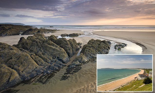 BEST BEACHES: Woolacombe in Devon and Weymouth in Dorset are the best beaches in UK