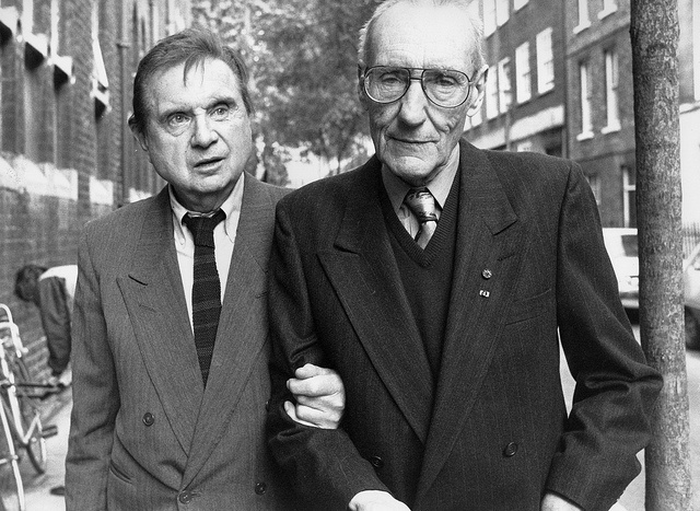 Francis Bacon and William S. Burroughs. Linking arms. Pshaw.