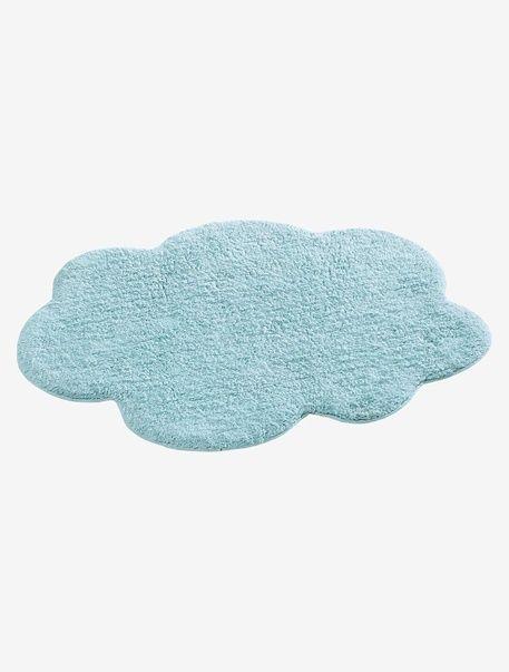 Tapis nuage - Bleu/ vert+Gris clair - 2