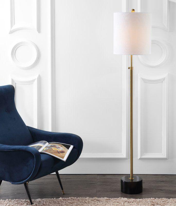 Classen Metal 66 Floor Lamp Michelle Offices In 2019 Brass