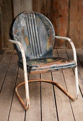 Vintage Lawn Chair U2013 Black And White // Available For Daily Rental At  Rentals. Nice Look
