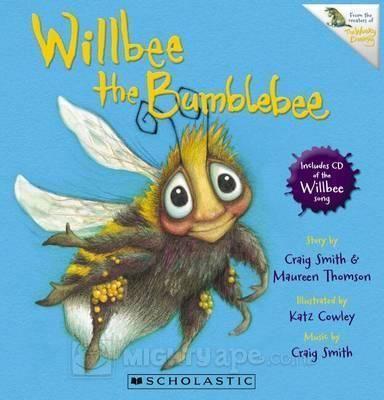 Willbee the Bumblebee (Book + CD)
