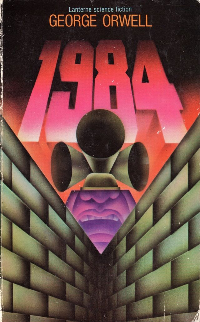 1984 - Psychedelic Norwegian Sci-Fi book covers from the 1960s and 70s. Design by Peter Haars