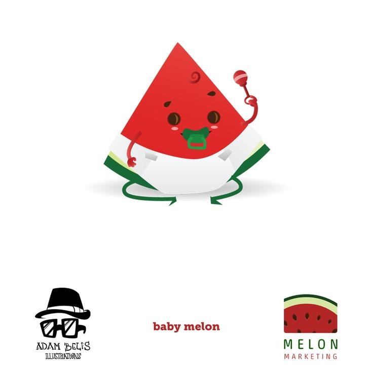 Silvester Melone ako bábätko ♥