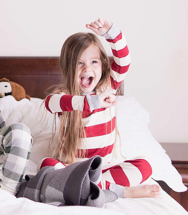 Burt's bees Christmas pajamas! #christmas #christmaskids #ad