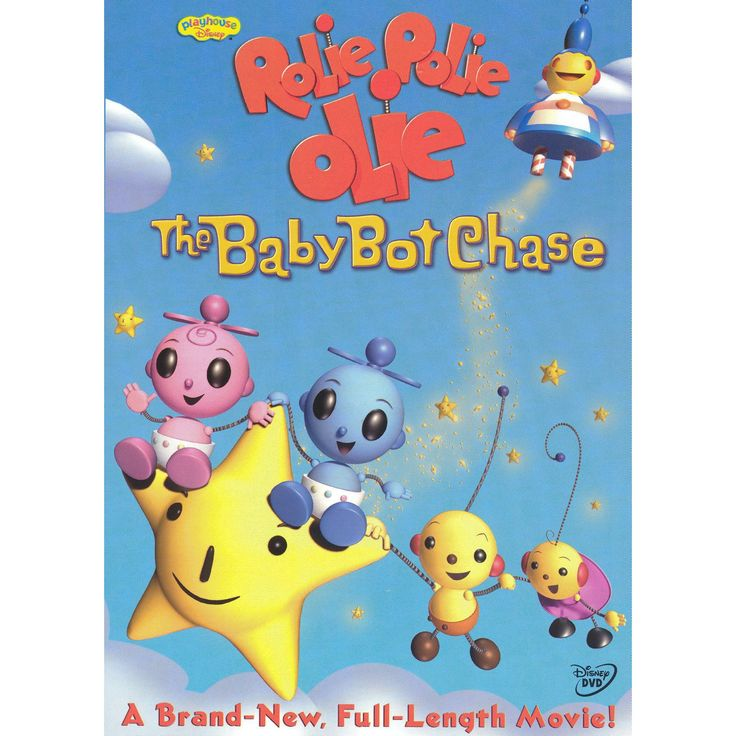 Rolie polie olie:Baby bot chase (Dvd)